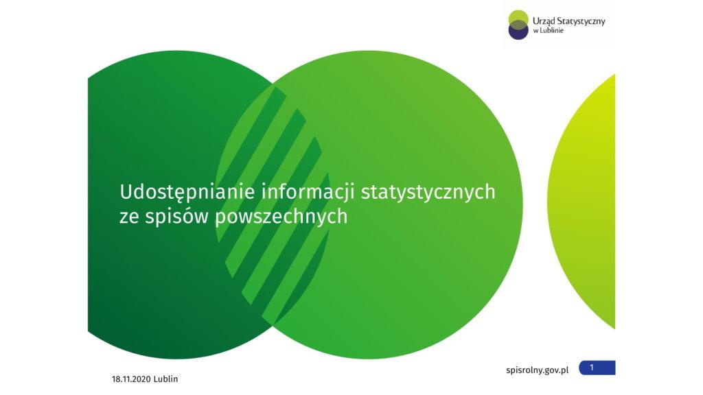 Prezentacja wyników spisu rolnego