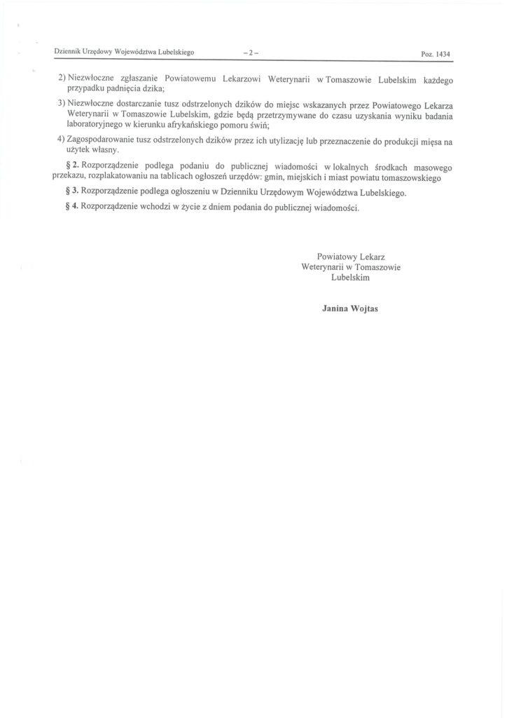 odstrzał dzików na terenie powiatu tomaszowskiego str2
