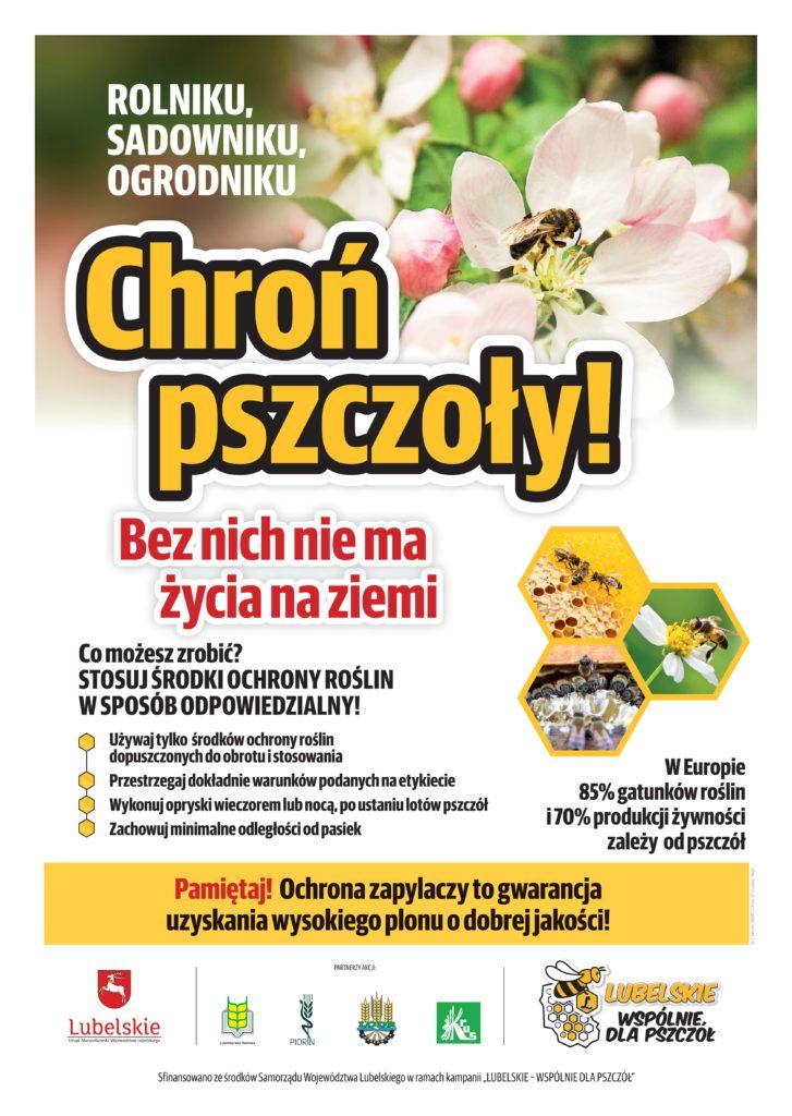 chroń pszczoły! bez nich nie ma życia na ziemi
